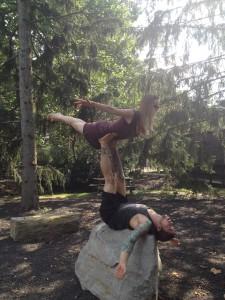 The Gunas in Acro Yoga